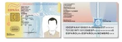 DNI Nacionalidad española